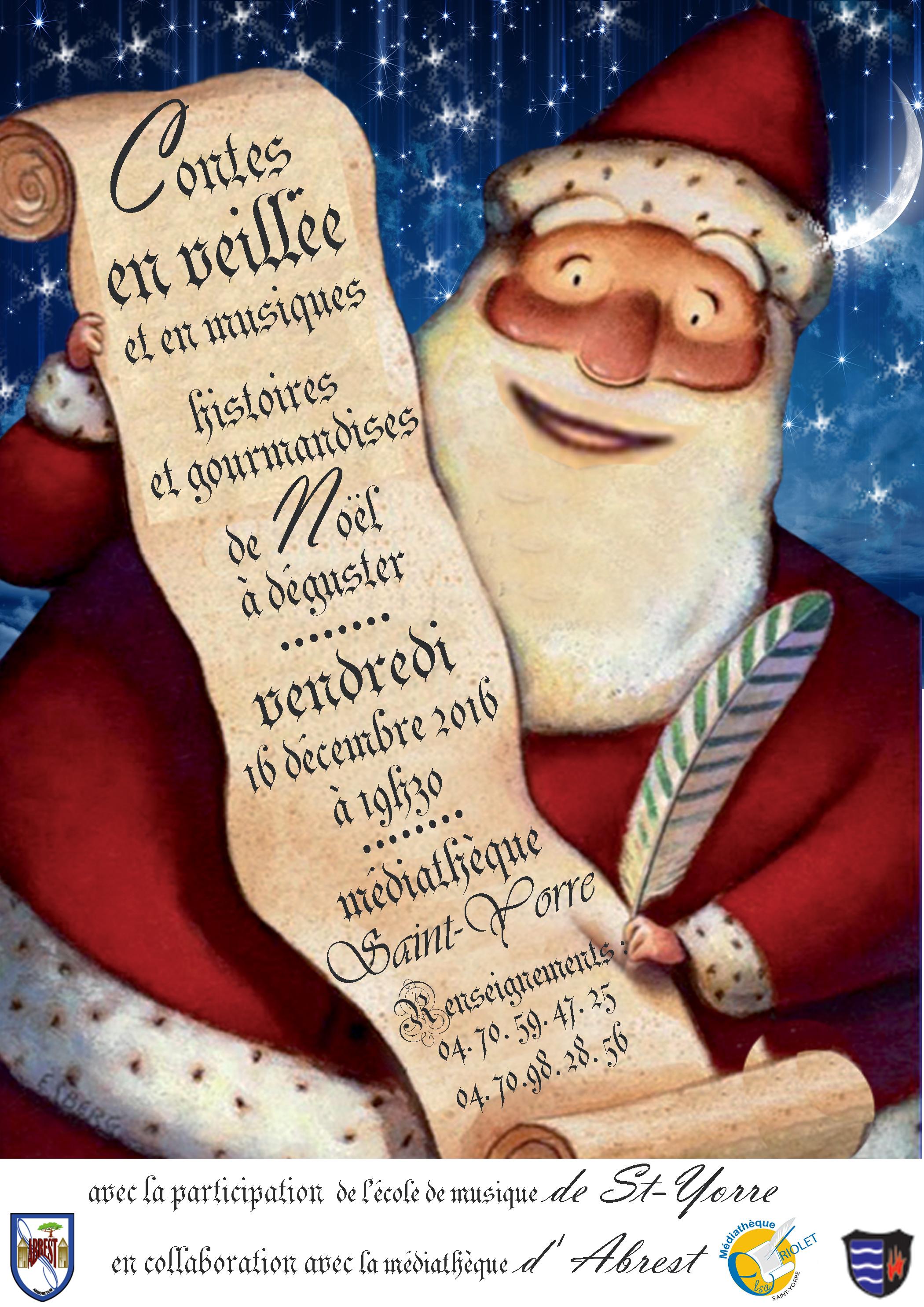 Veillée contes de Noël
