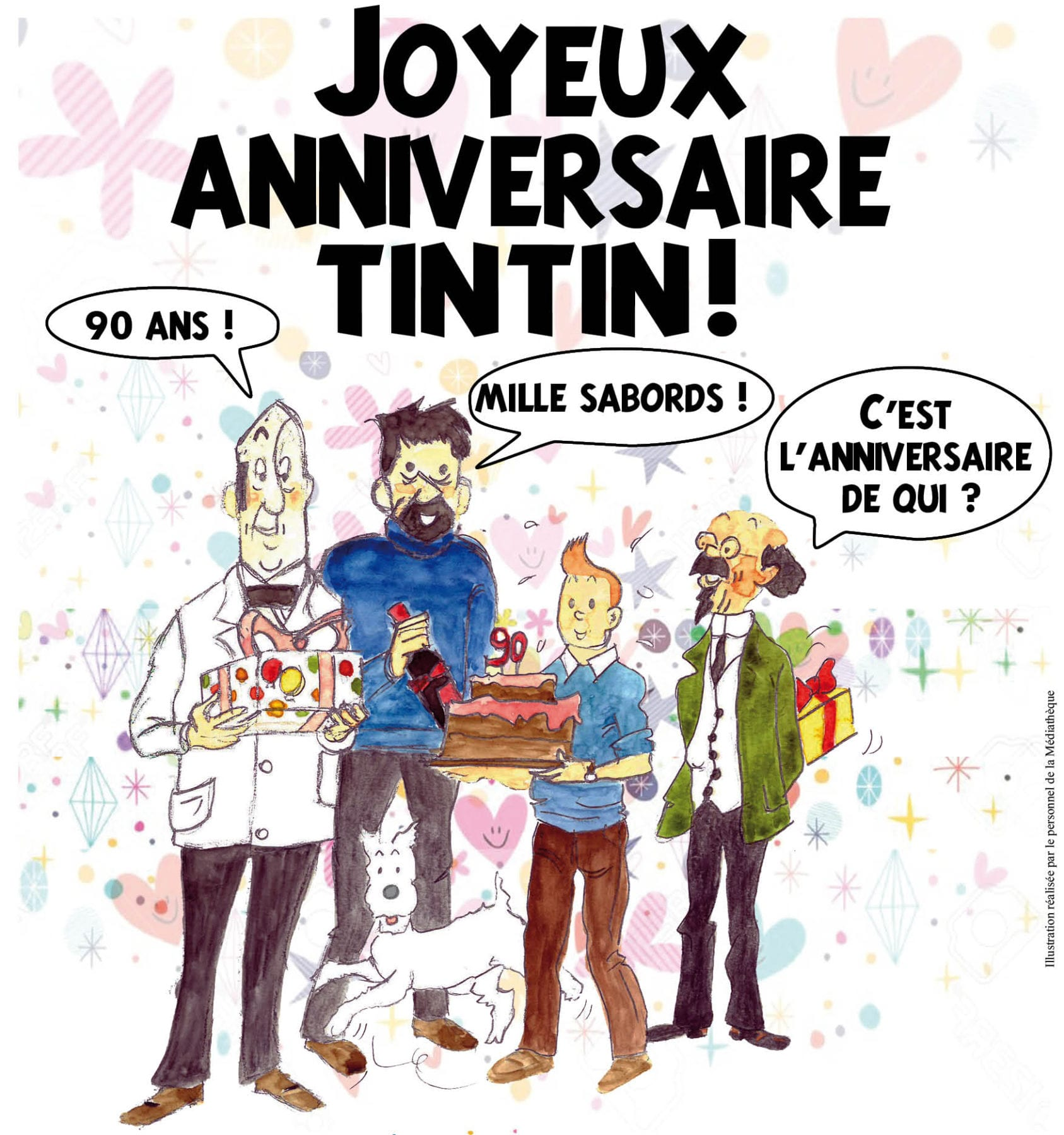 Exposition « Joyeux anniversaire Tintin »
