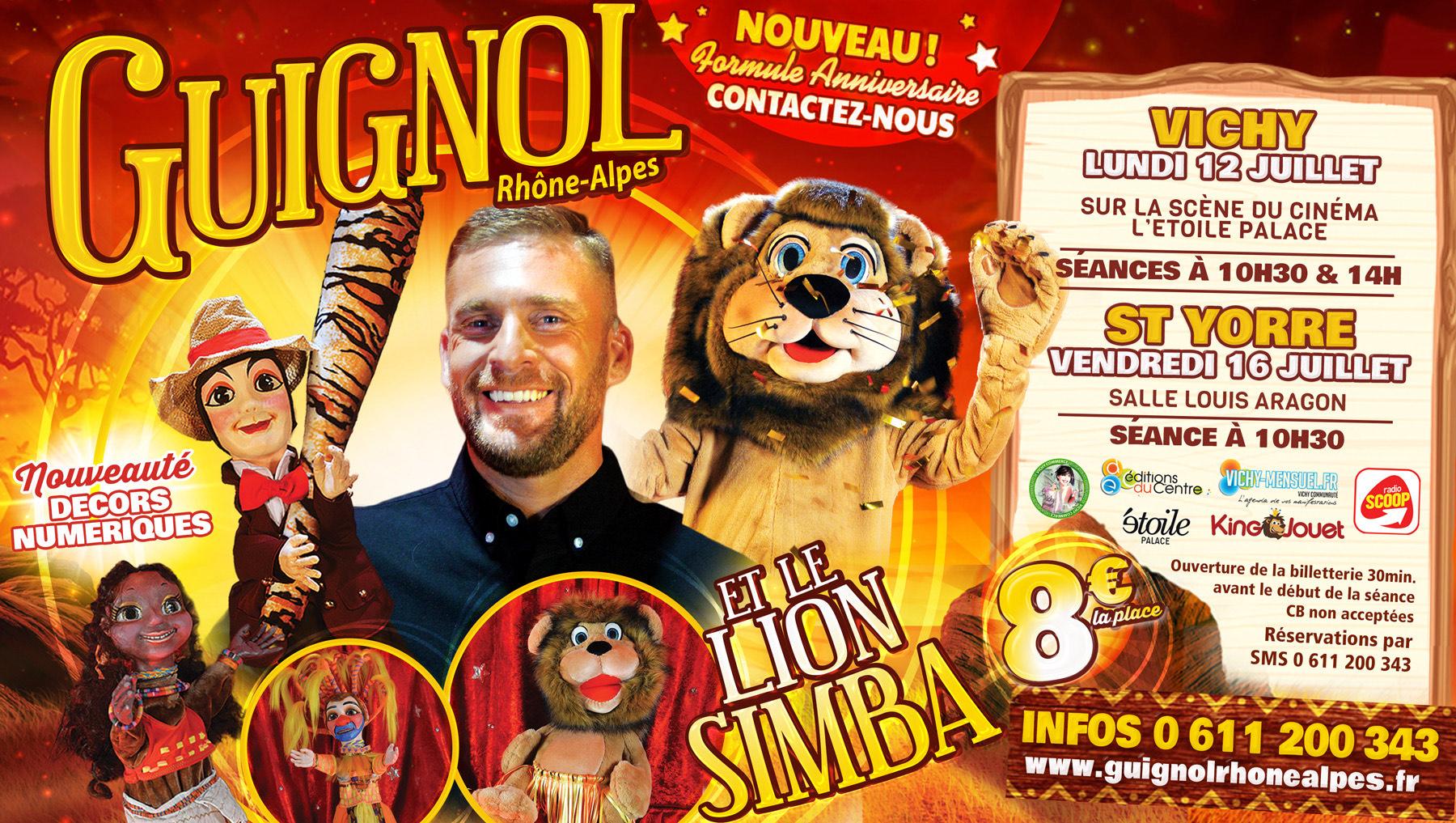 Spectacle Guignol et le Lion Simba